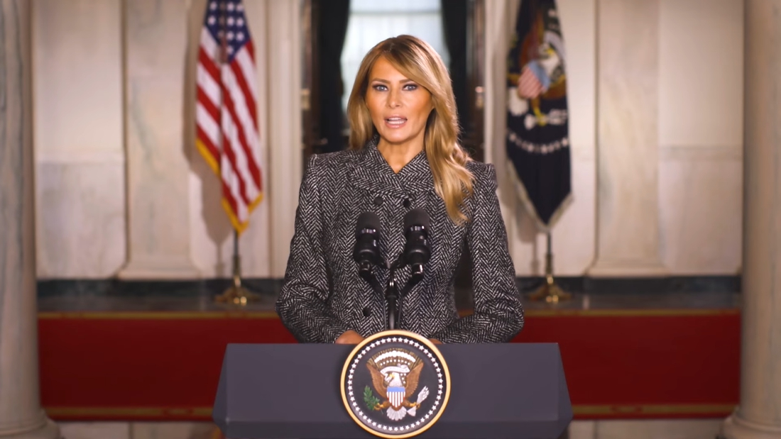 """melania-trump-is-the-least-popular-first-lady-in-decades,-but-looks-back-on-""""unforgettable-four-years"""""""