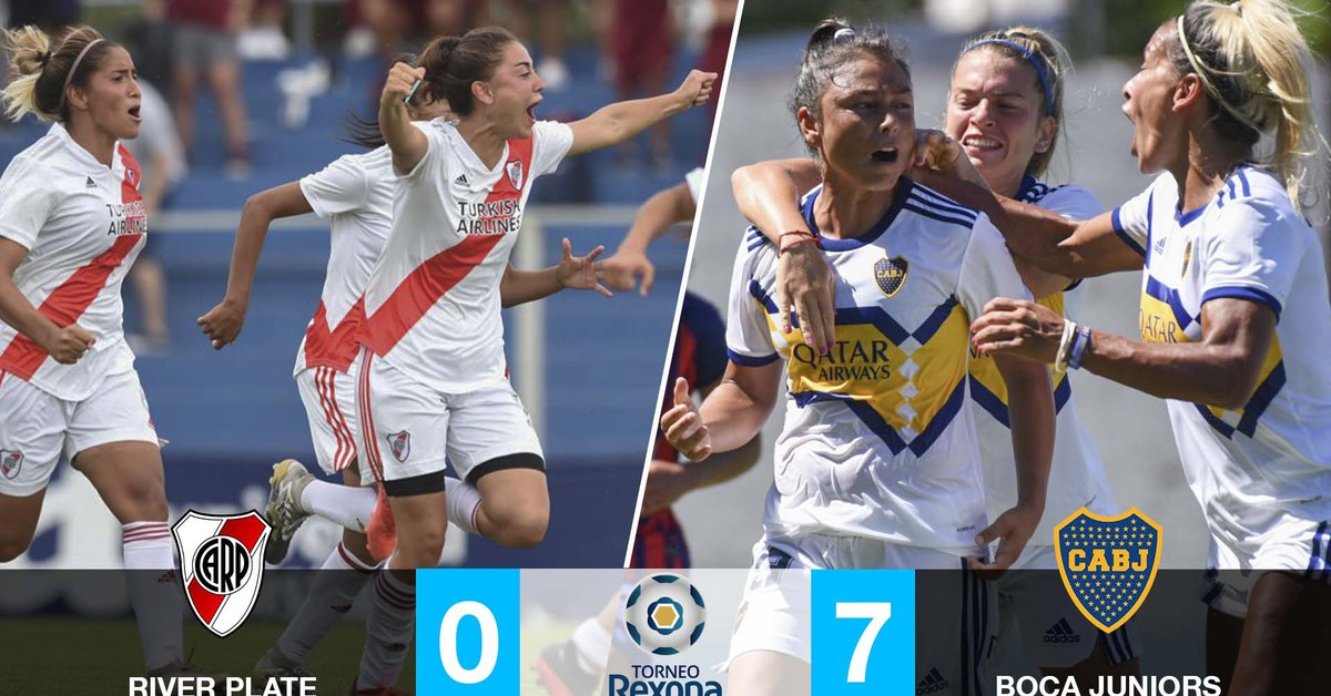 final-women's-tournament:-boca-beats-river-and-is-the-first-champion-of-the-professional-era