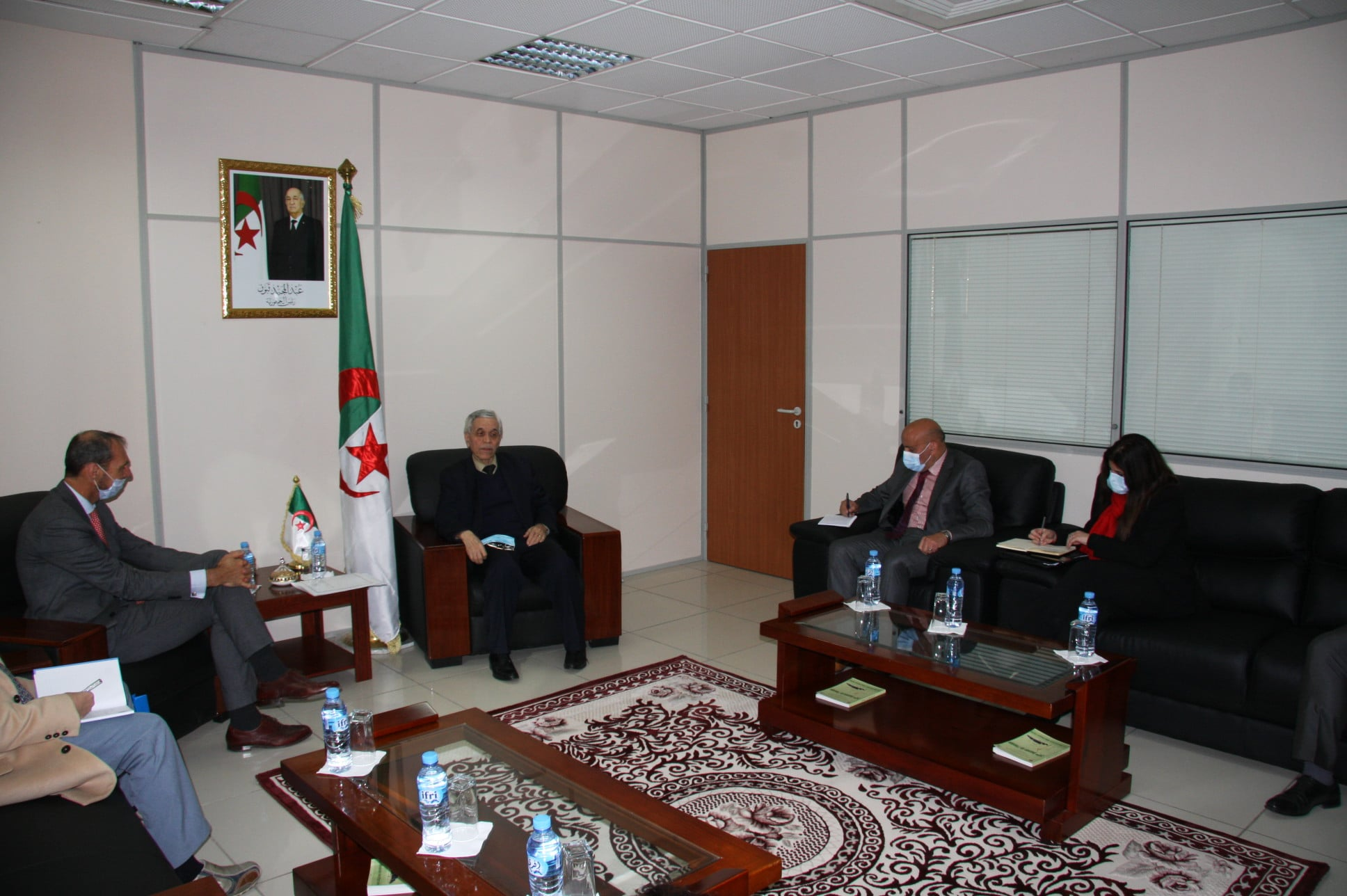 chitor-receives-the-resident-coordinator-ambassador-of-the-united-nations-in-algeria