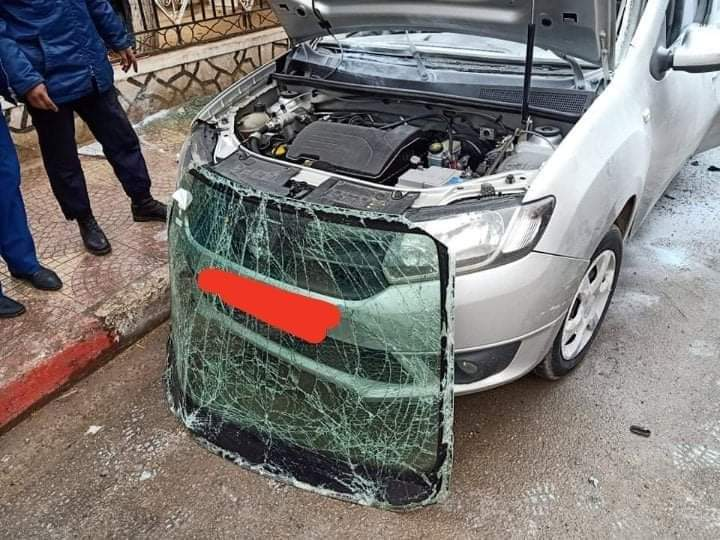 إصابة-شخص-في-إنفجار-خزان-غاز-لسيارة-في-تيسمسيلت
