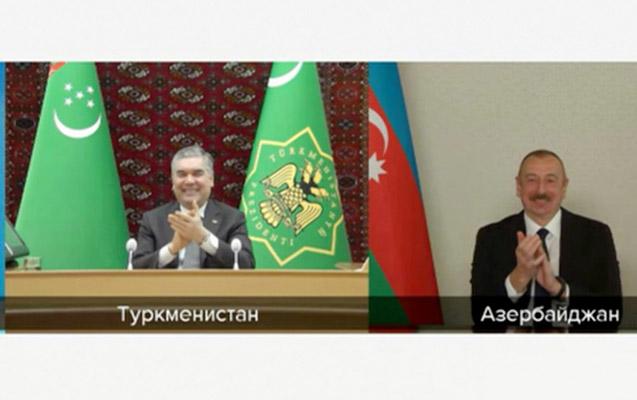 ilham-Əliyevlə-turkmənistan-prezidenti-arasinda-səmimi-dialoq