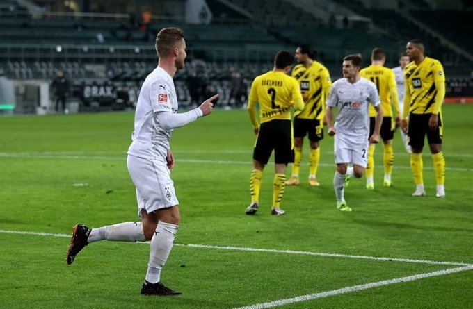haaland's-double-is-not-enough,-dortmund-is-defeated-by-borussia-monchengladbach