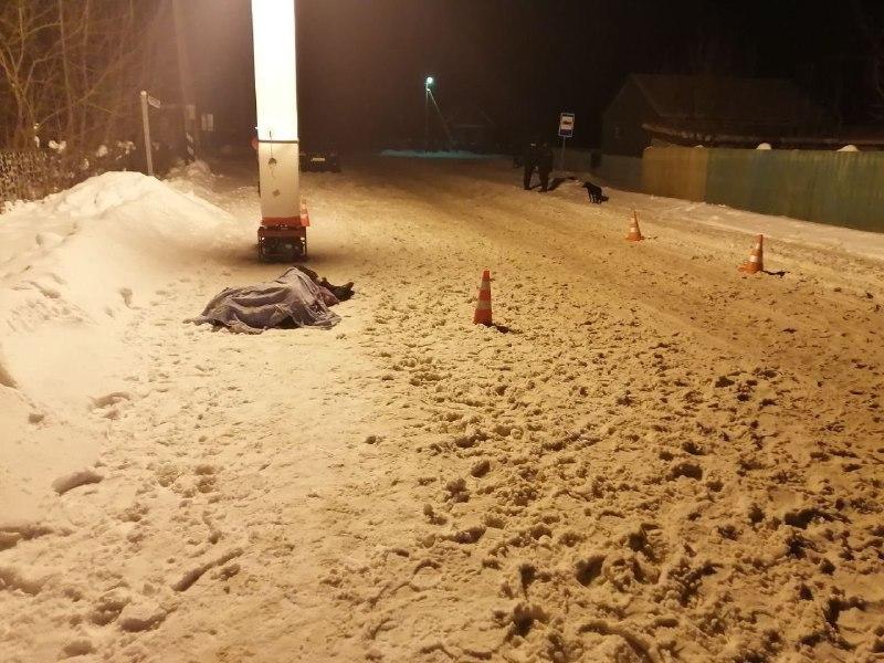 В-Борисовском-районе-skoda-переехала-лежащего-на-дороге-мужчину