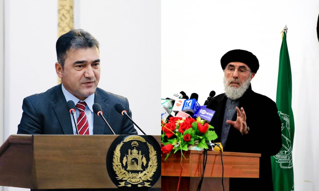 hikmatyar-controls-airspace-by-installing-old-radar-on-house,-presidential-spokesperson-responds-with-sarcasm