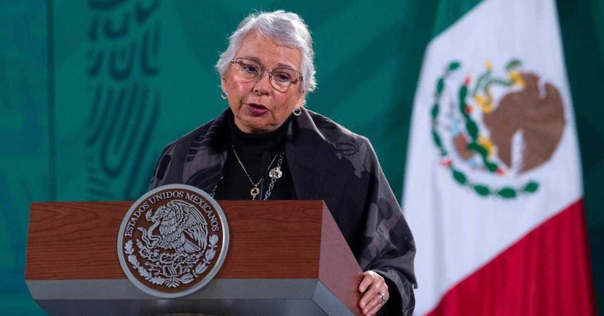 """olga-sanchez-cordero-confirmed-that-amlo-is-""""well-and-strong""""-and-continues-to-lead-the-government"""