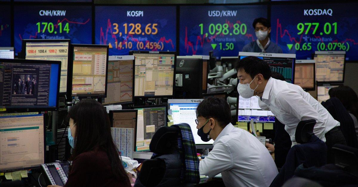seoul-stock-exchange-falls-2.14%-due-to-profit-capture