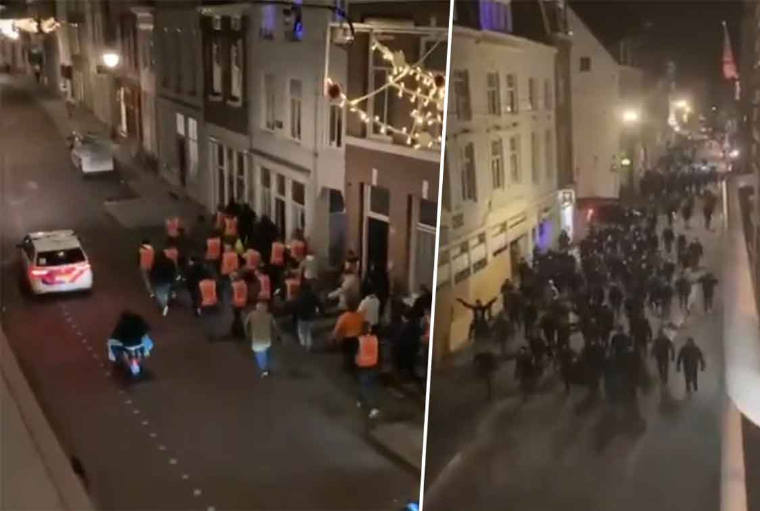 """football-supporters-form-a-front-against-rioters-in-the-netherlands:-""""for-the-guys-who-think-they-are-making-a-mess-again:-that-is-not-going-to-be-him!"""""""