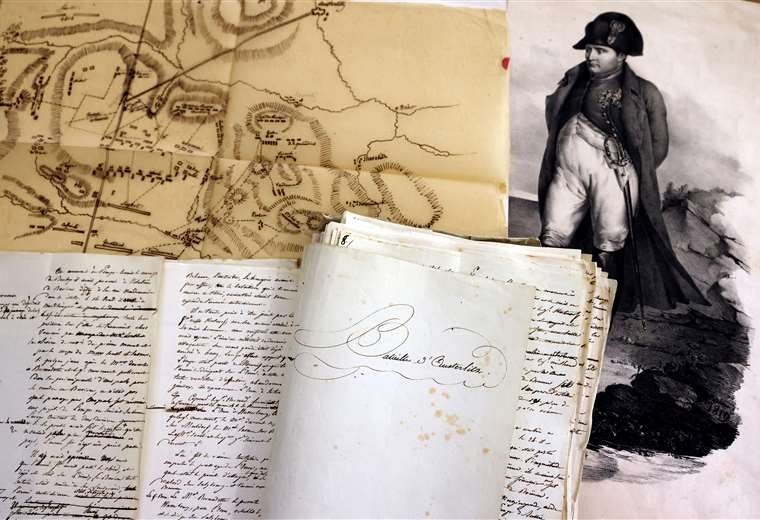 un-manuscrito-de-napoleon-sobre-la-batalla-de-austerlitz-esta-a-la-venta-en-paris