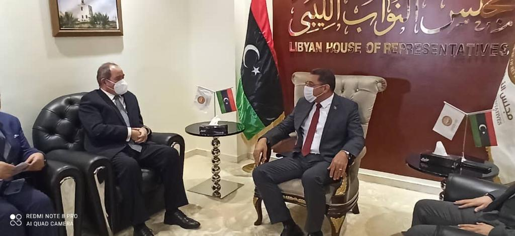 in-a-lengthy-meeting-with-his-libyan-counterpart,-boukadoum-discusses-in-tripoli-the-latest-developments-in-libya