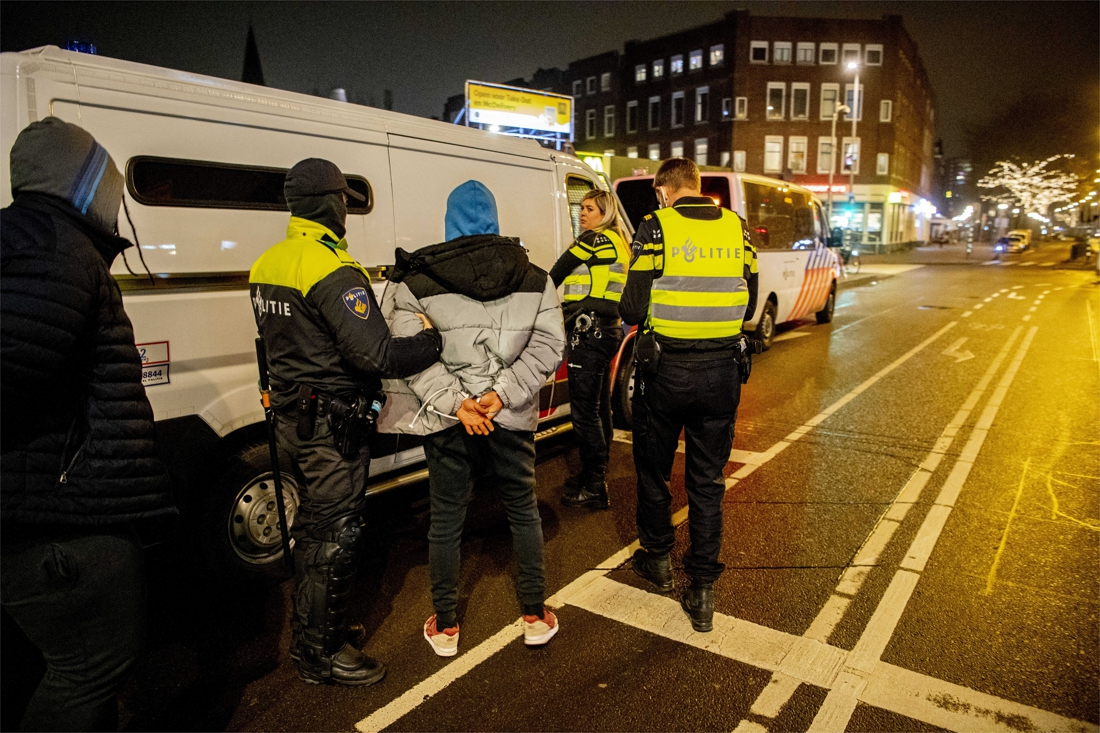 """police-arrest-25-people-in-rotterdam-during-""""manageable-evening"""""""