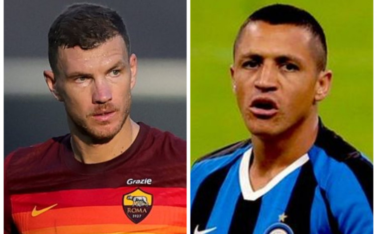 inter-and-roma-agree-on-an-exchange,-the-main-actors-being-sanchez-and-dzeko