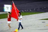 大陆运动员首次赴台参加国际性综合运动会