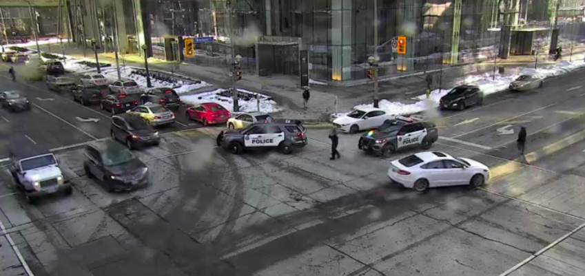 toronto-police-are-warning-of-a-group-throwing-bottles-onto-the-road-from-a-downtown-condo