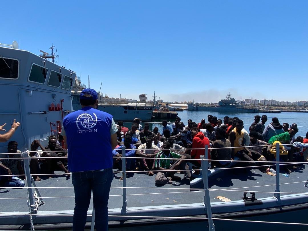 قرابة-4-آلاف-مهاجر-تمت-إعادتهم-إلى-ليبيا-بداية-2021