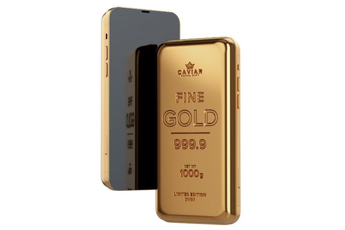 Смартфон-за14миллионов-сомов.-iphone-иsamsung-встроили-вслиток-золота