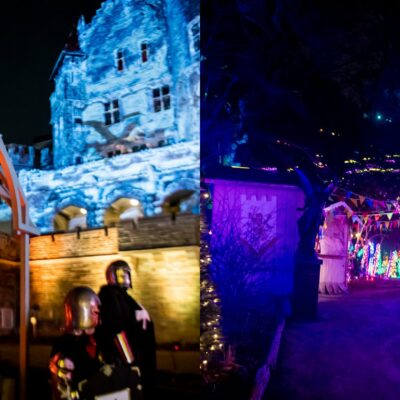 casa-loma-is-getting-a-medieval-maze-of-lights-&-giant-dragons-this-spring-(photos)