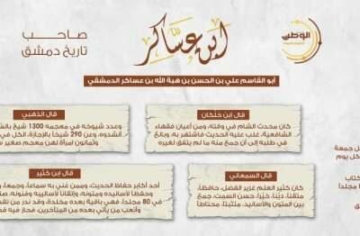 ابن-عساكر- صاحب-تاريخ-دمشق