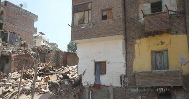 سقوط-أجزاء-من-عقار-وسط-الإسكندرية-دون-إصابات