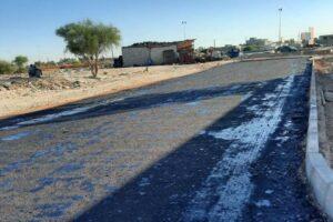 بلدية-أبوسليم-تعلن-عن-أعمال-صيانة-الطريق-المجاور-لشركة-الراحلة