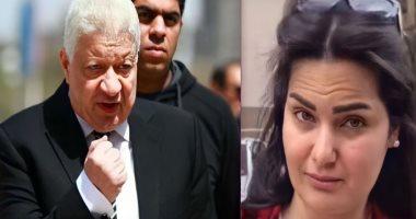 تأجيل-دعوى-مرتضى-منصور-ضد-سما-المصرى-بتهمة-السب-والقذف-لـ23-يونيو