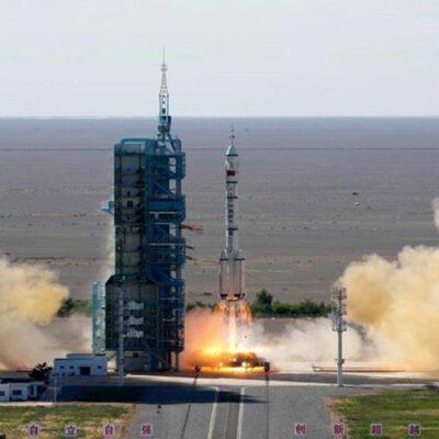 الصين-تطلق-أوّل-رحلة-مأهولة-إلى-محطتها-الفضائية