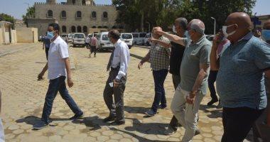 محافظ-الجيزة-يتفقد-رصف-شارع-السودان-وإنشاء-موقف-السيارات
