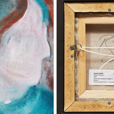 a-david-bowie-painting-found-in-a-garbage-dump-goes-on-sale-in-canada
