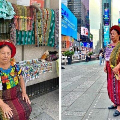 maria-tuch-y-sara-mendoza,-de-santiago-atitlan,-expusieron-artesanias-en-nueva-york