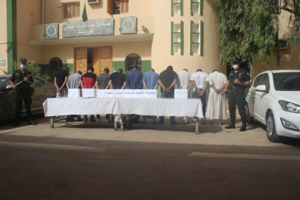 ghardaia-gendarmerie-dismantles-a-national-network-run-by-foreigners-specialized-in-smuggling-vehicles-and-forging-their-files