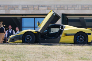 in-livno,-everything-is-ready-for-the-wedding-celebration-of-mate-rimac-and-his-katarina,-yellow-nevera-attracts-attention