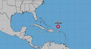 peter-es-degradado-a-depresion-tropical;-continuara-afectando-zona-norte-de-rd