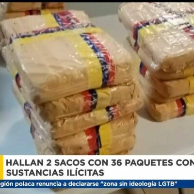 hallan-2-sacos-con-36-paquetes-con-presunta-sustancia-ilicita