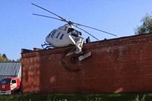 aterizare-nereusita.-un-elicopter-cu-un-pacient-la-bord-s-a-prabusit-pe-acoperisul-unui-garaj-(βίντεο)
