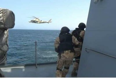 the-army-concludes-its-military-exercises-on-the-mauritanian-coast
