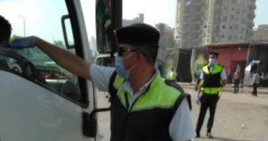 حملات-مرورية-بمحاور-القاهرة-والجيزة-لرصد-مخالفى-قواعد-السير