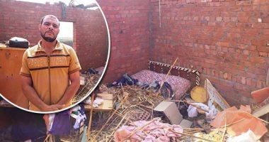 تفاصيل-مصرع-سيدة-وحفيدها-فى-حادث-انهيار-سقف-غرفة-منزل-فى-بنها